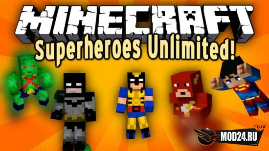 Превью Superheroes Unlimited [1.7.10] [1.6.2] [1.5.2]