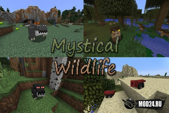 Превью Mystical Wildlife [1.12.2]