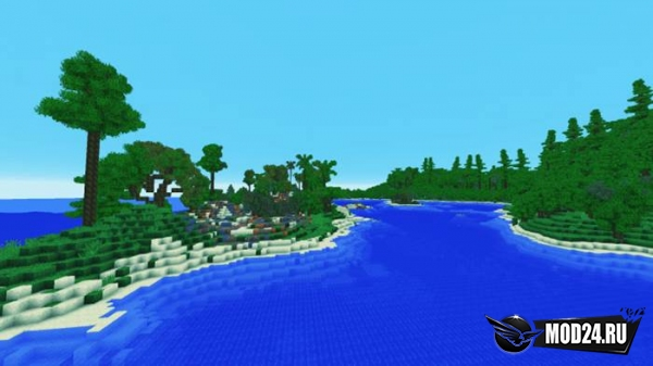 Карта Forgotten Shores — Survival Island