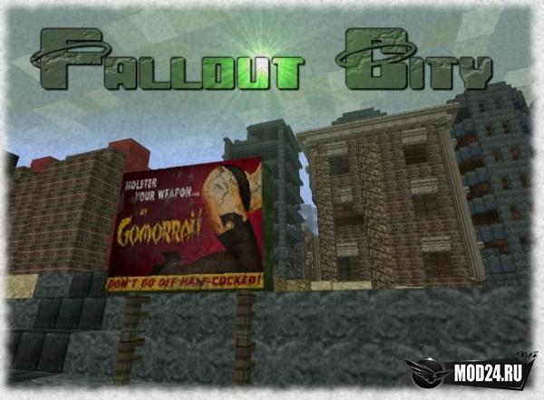 Превью Карта Fallout City [1.12.2]
