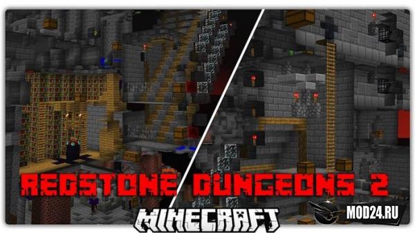 Превью Карта Redstone Dungeons 2 [1.12.2]