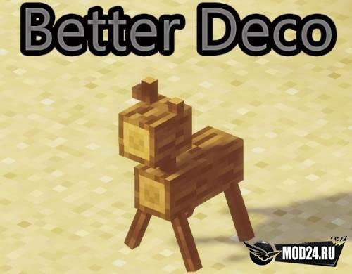 Превью Better Deco [1.12.2]