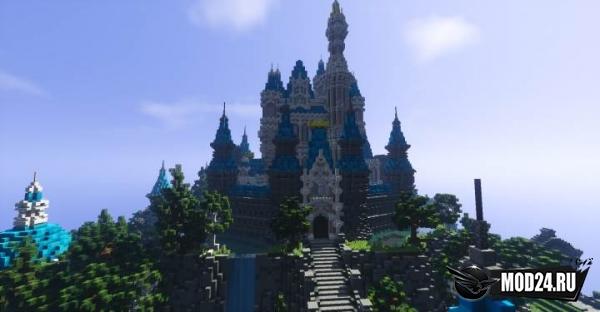 Карта Disney Castle [1.13] [1.12.2]