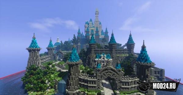 Превью Карта Disney Castle [1.13] [1.12.2]