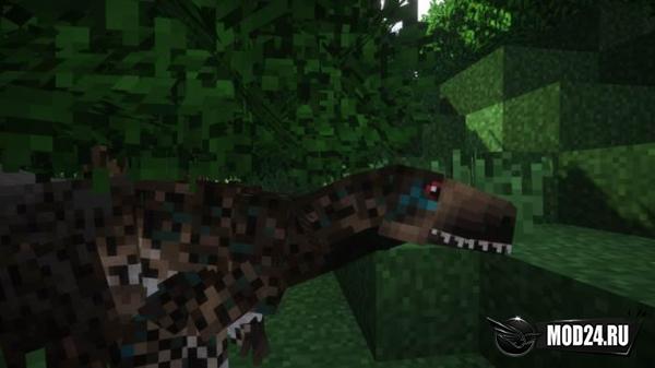 Мод на Динозавров — Prehistoric Eclipse [1.12.2]