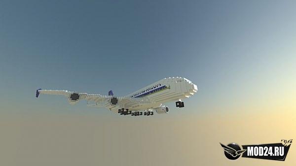 Превью Карта Самолет Singapore Airlines Airbus A380-800 [1.12.2]
