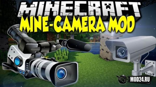 Превью Mine Camera [1.12.2]