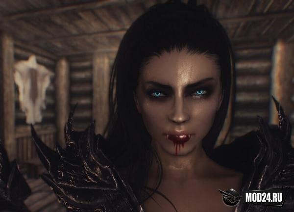 скайрим глаза вампира