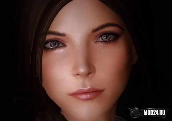 Элегантные красивые глаза