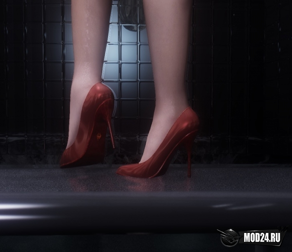скайрим туфли