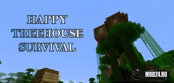 Превью Happy Treehouse Survival [1.13.2]