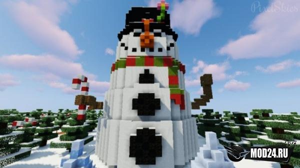 Find the Button: Santa's Village [1.13.2]