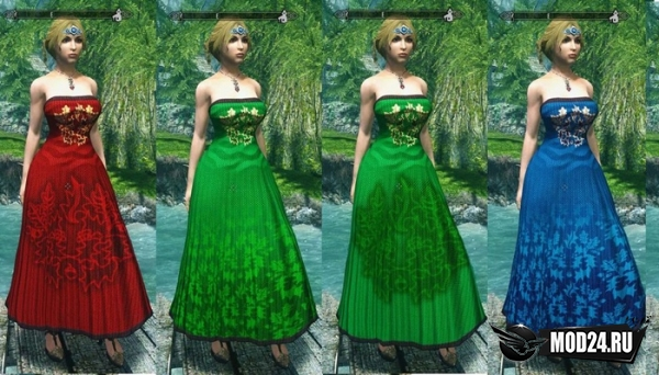 Превью Пак длинных платьев