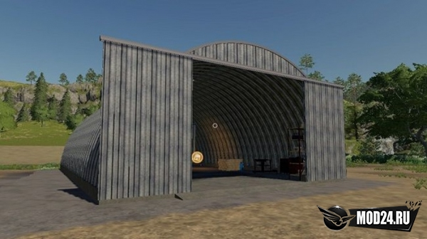 "Пак ангаров ""Placeable Sheds Pack"""