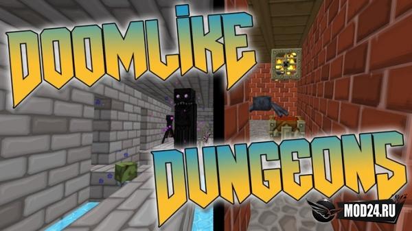 Превью Doomlike Dungeons [1.12.2]