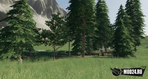 Превью Улучшенные текстуры деревьев