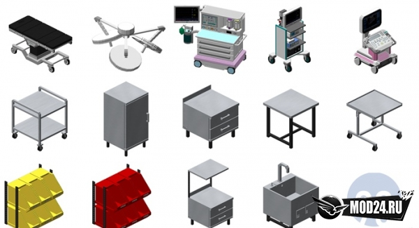 Hospital - Theatres Pack [1.12.2]