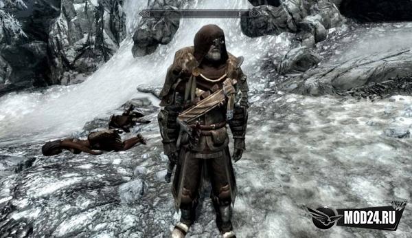Древняя броня воина