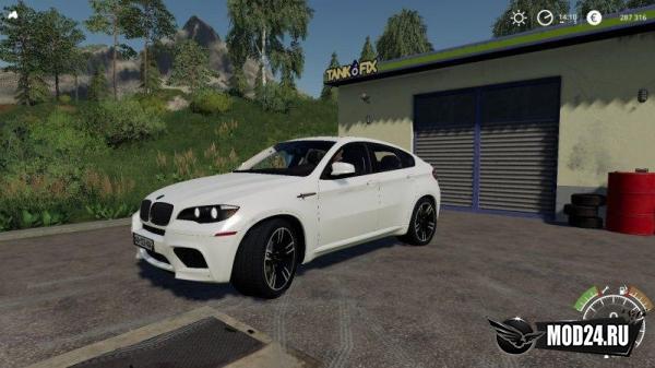 Превью BMW X6 M