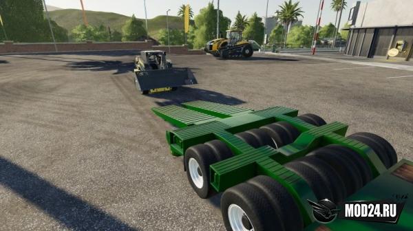 Прицеп Wheels Low Deck Trailer