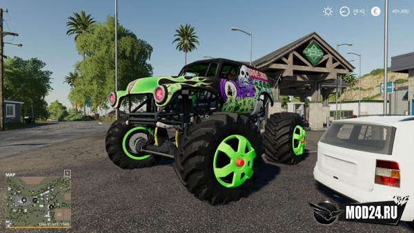 Превью Grave Digger Monster Truck