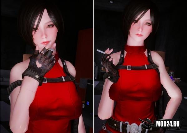 Ада Вонг из Resident Evil 2