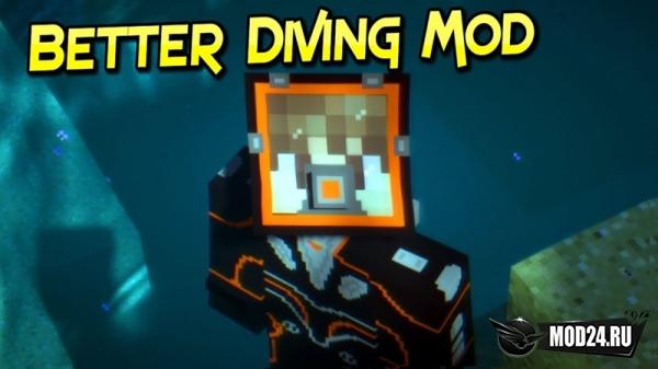 Превью Better Diving [1.12.2]