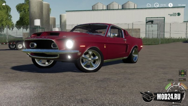 1968 Shelby Mustang для Farming Simulator 2019