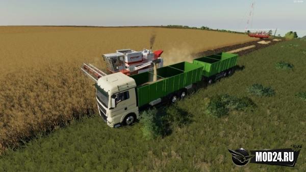 Man Zernovoz для Farming Simulator 2019