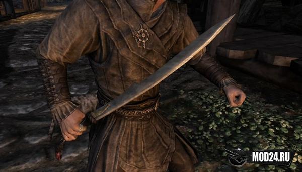 Эльфийский короткий меч