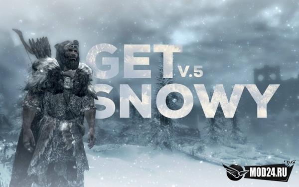 Превью Броня и тело в снегу