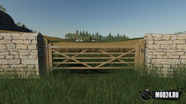 Ворота Wooden Gates Fences And Stone Walls