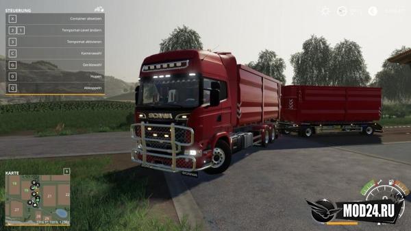 Превью Scania R730 HKL