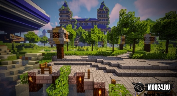 Castle and Gladiator Arena [1.13.2]