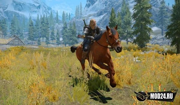 Обновленные лошади