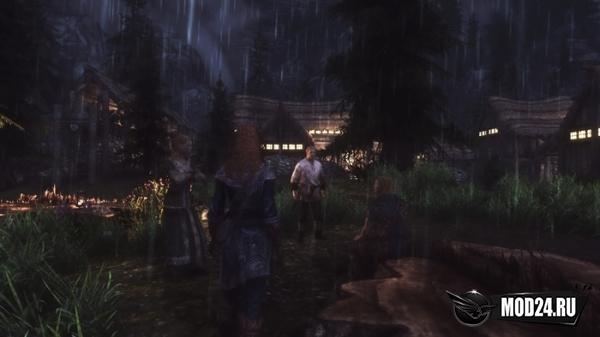 Превью Реалистичный дождь