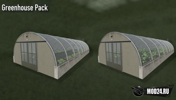 Превью Теплица Greenhouse Pack Placeable