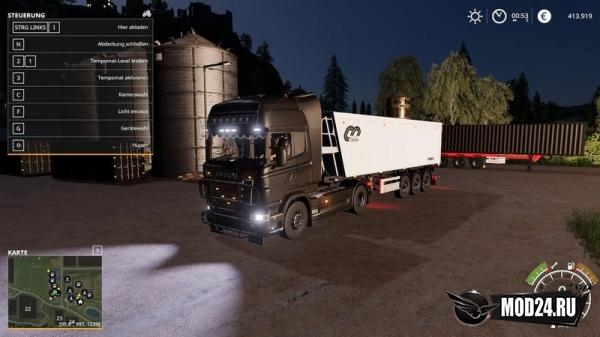 Превью Тягач Scania R730 Semi