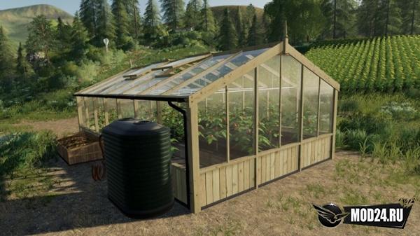 Превью Теплица Greenhouses