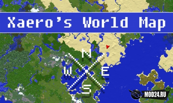 Превью Xaero's World Map [1.13.2] [1.12.2]