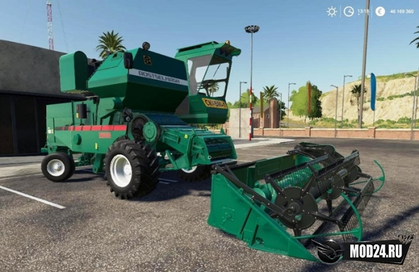 Комбайн Нива для Farming Simulator 2019