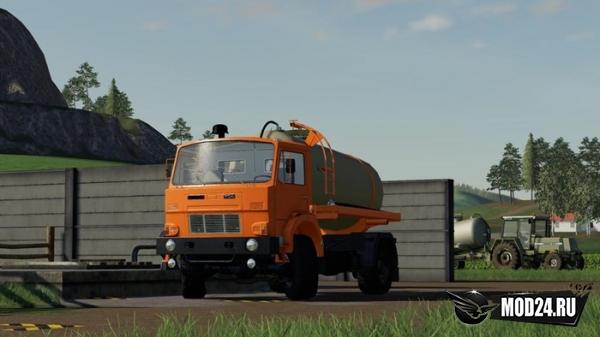 Грузовик D-754 Truck Pack