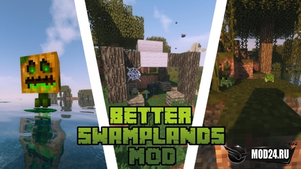 Превью Traitor's Better Swamplands [1.12.2]
