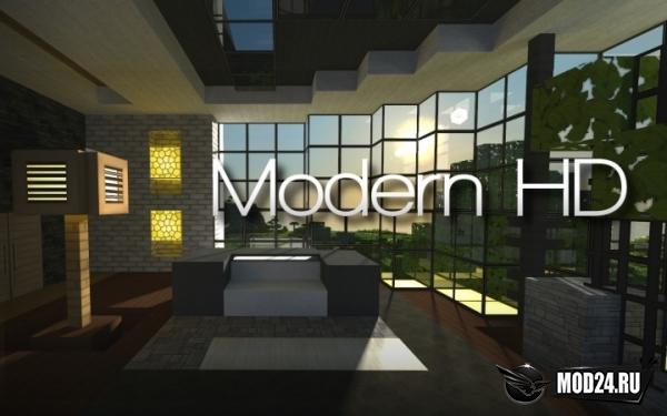 Превью Текстура Modern HD Pack [1.13.2] [1.12.2]