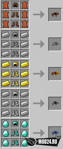 Wolf Armor and Storage [1.12.2]