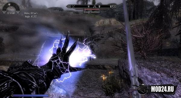 Гроза с молниями в одной руке