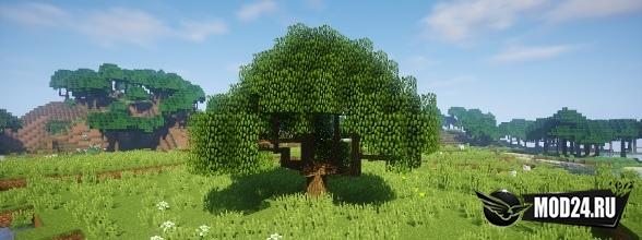Мод на деревья Dynamic Trees [1.12.2]