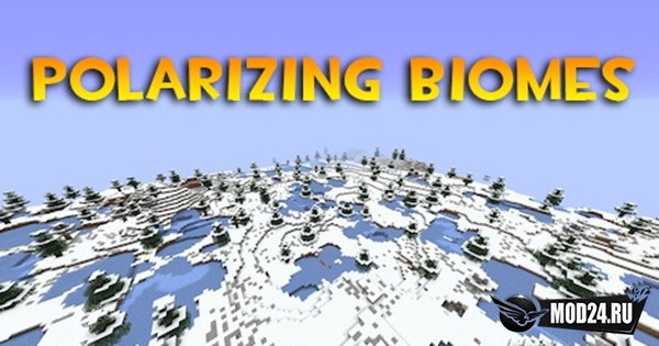 Превью Polarizing Biomes [1.14.4]