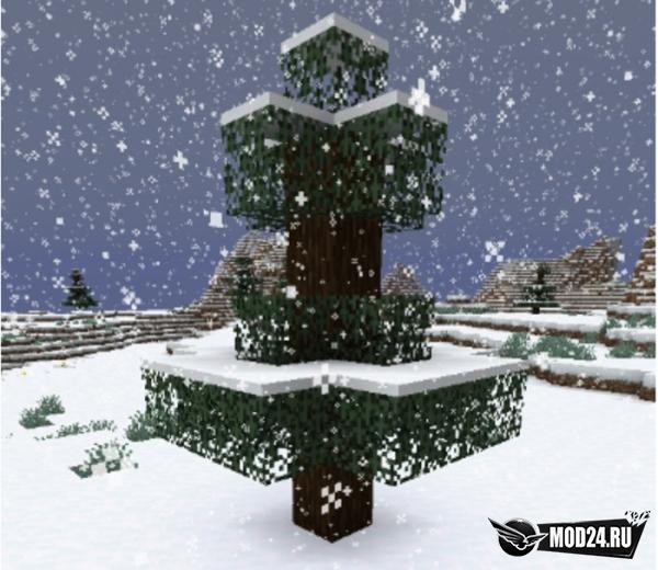 Превью Snow Under Trees [1.15.1] [1.14.4]
