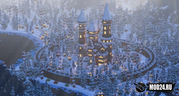 Превью Gingerbread Village [1.12.2]
